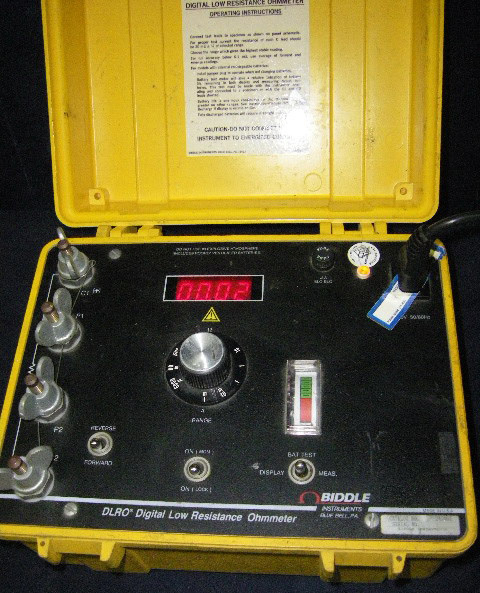 Biddle Digital Low Resistance Ohmmeter : Biddle megger in electronic test equipment for sale