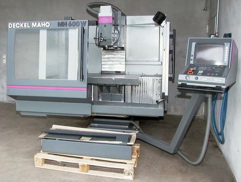 Deckel maho mh600w in machine tools for sale used for Deckel maho geretsried