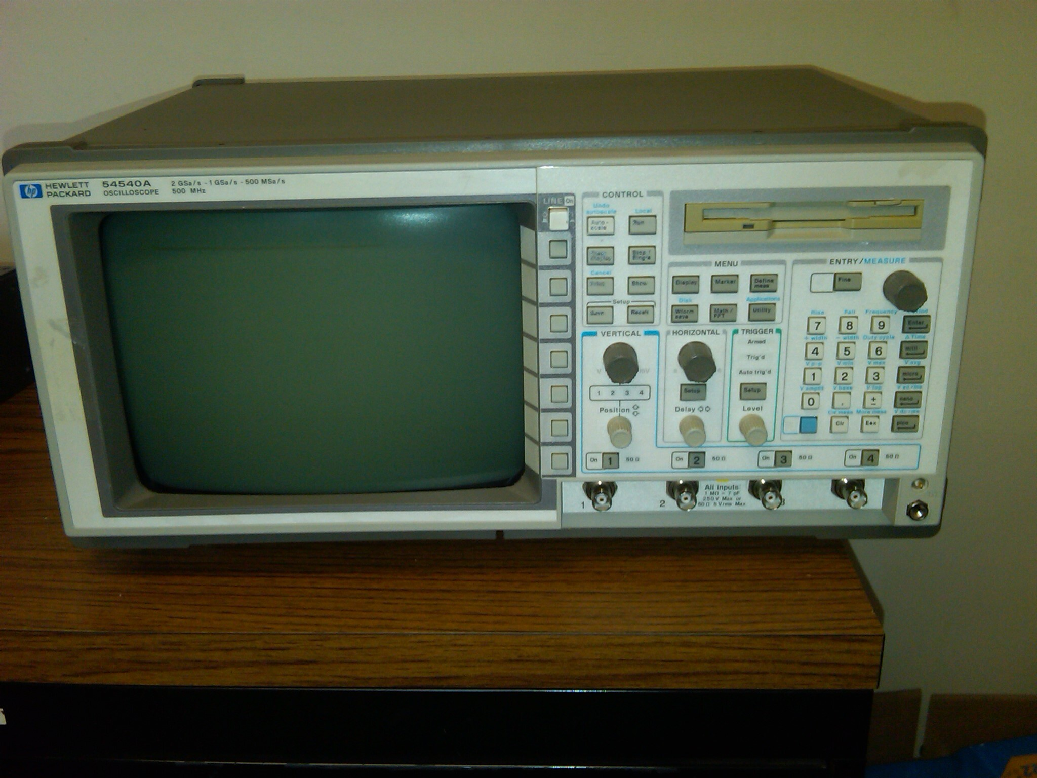 Used Electronic Test Equipment Sale : Hewlett packard agilent a in electronic test