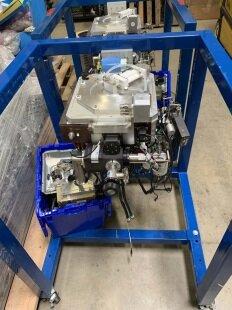 Photo used AMAT / APPLIED MATERIALS WxZ CVD Chamber for 5000 for sale