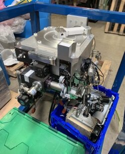 Photo used AMAT / APPLIED MATERIALS WxZ CVD Chamber for P5000 for sale