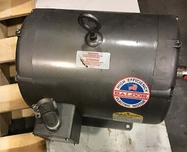 Photo used BALDOR M3313T for sale