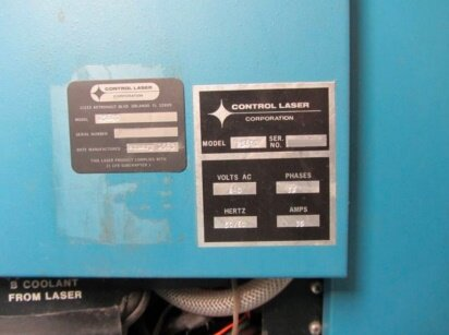Photo used CONTROL LASER 258 QT for sale