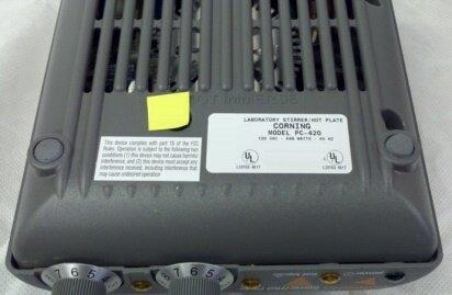 Photo benutzt CORNING PC-420 zu verkaufen
