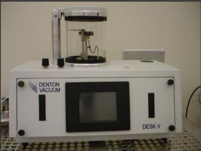 Photo benutzt DENTON VACUUM Desk V zu verkaufen
