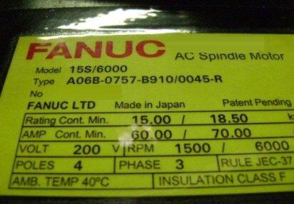 FANUC 15S/6000