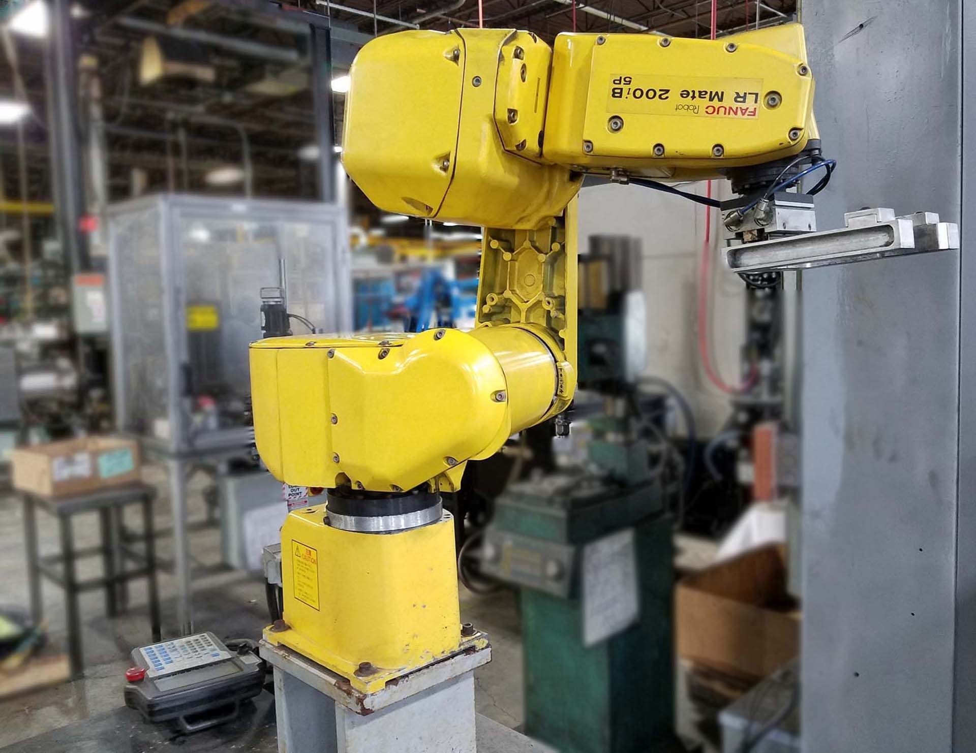 FANUC LR Mate 200iC/5H Handler used for sale price #9223621
