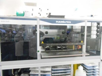 Photo used HAMILTON ROBOTICS MicroLab ELISA STARlet for sale