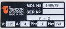 KLA / TENCOR P2