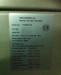 Photo benutzt NEXX SYSTEMS Nimbus 314 zu verkaufen