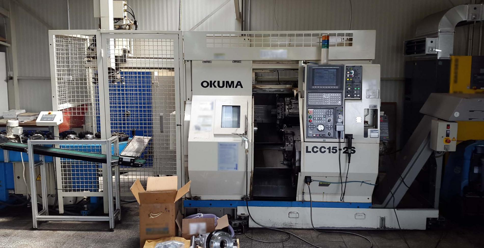 OKUMA LCC15-2S used for sale price #9052054, 2003 > buy from CAE
