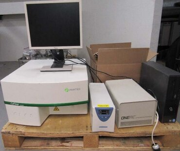 Photo used PARTEC CyFlow Space for sale