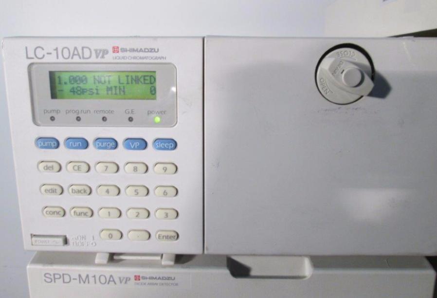 SHIMADZU HPLC Spectrometer used for sale price #9104502